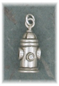 FHY10M- Fire Hydrant Charm/Pendant/Pin